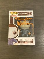 Funko Pop Michael Myers Halloween tommy lee wallace - Autographed + Certificate
