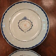 New listing Pair Of Chinese Export American Market Saucer Dishes 1780