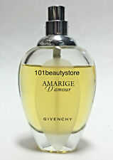 AMARIGE D'Amour Givenchy EDT 1.7oz **NEW. UNBOXED.80% FULL.LOST CAP**