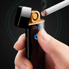 Briquet Allume-Cigarette Électrique Touche Tactile Rechargeable Usb Compact
