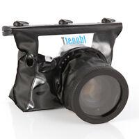 US 20M Underwater Diving Waterproof Housing Case Bag for Canon Nikon DSLR Camera