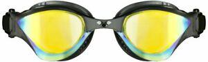 Arena Cobra Tri Mirror Swimming Goggles - Revo Black/Black