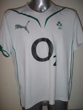 """Ireland Puma Adult Large 44"""" Rugby Union Shirt Jersey Change Six Nations Top"""