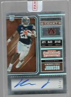 2018 Contenders Draft Kerryon Johnson Playoff Ticket Auto Rookie RC /15
