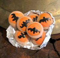 Dollhouse Miniature Artisan Halloween Bat Cookies!