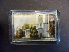 Vintage Glass Paperweight Chicago Worlds Fair 1933 Souvenir Admin Building