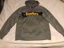 Nike Pittsburgh Steelers Mens Therma Hoodie Medium Nwt 906588-063 NFL Sweatshirt