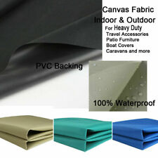 Marine Heavy Duty Canvas PVC coated Waterproof Polyester Outdoor Fabric Covers