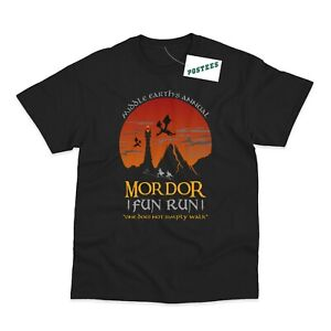 Mordor Fun Run Inspired By The Lord Of The Rings DTG Men's and Women's T-Shirts