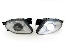 03-06 Mercedes Benz W211 E Class Projector Glass Fog Light + No Error LED Bulb