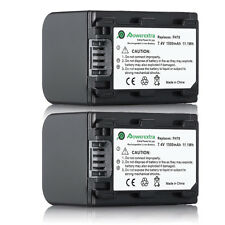 2 Battery Pack For Sony NP-FH30 NP-FH40 NP-FH50 NP-FH60 NP-FH70 NP-FH90 NP-FH100