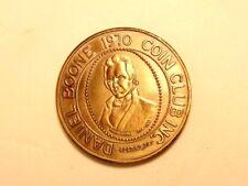 Daniel Boone Homestead bronze medal: 1970