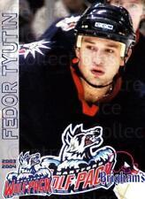 2003-04 Hartford Wolf Pack #24 Fedor Tyutin