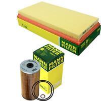 MANN-Filter Set Ölfilter Luftfilter Inspektionspaket MOL-9693336