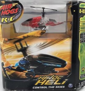 Air Hogs Indoor Radio Control Havoc Heli Control to the Skies - Black/Red ChA