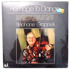 SEALED STEPHANE GRAPPELLI: Hamage To Django LP CLASSIC JAZZ RECORDS US 1976 2XLP