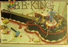 B.B. King - Blues 'N' Jazz - Vintage Promo Tour Poster [1983]