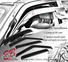 For Scion xD 2008-2014 Outside-Mounted Ash Grey Sun Roof Visors 5pcs Combo