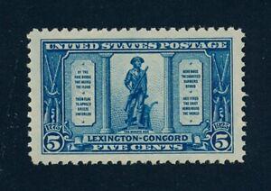 drbobstamps US Scott #619 Mint NH Stamp w/Graded XF-Sup 95J PSE Cert