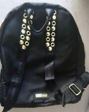 Steve Madden Backpack, Black With Adjustable Straps, New, 15 x 15 x 5½