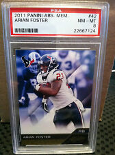 2011 PANINI ABSOLUTE # 42 ARIAN FOSTER ** 2 CARD LOT ... texanS *** RF-6023