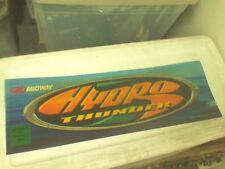 Hydro thunder arcade marquee