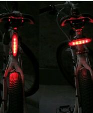 RED 5 LED Waterproof ALL BIKE BICYCLE CYCLE REAR Back TAIL LIGHT LAMP Taillight