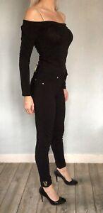 Pantalon noir VERSACE -  Taille 36