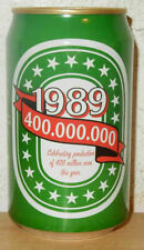 1989 HEINEKEN Celebrating 400.000.000 cans Beer can from HOLLAND (33cl)
