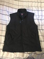 Men's SeV SCOTTeVEST TEC Full Zip Black Travel Vest Size Large