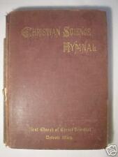 CHRISTIAN SCIENCE HYMNAL 1905 DETROIT, MI  3rd Edition