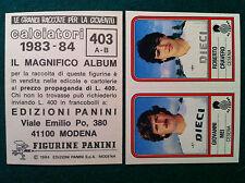 CALCIATORI 1983-84 83-1984 n 403 MEI CRAVERO - Figurina Panini velina