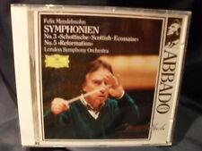 Mendelssohn - Symphonien  -Claudio Abbado & London Symphony Orchestra