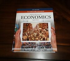Mankiw's Principles of Economics by N. Gregory Mankiw 8th Edition AP 2018 ~New