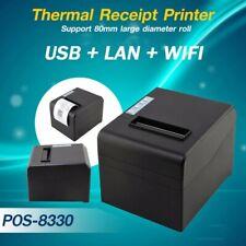 STAMPANTE TERMICA 80MM USB LAN WIFI 8330 RISTORANTE SCONTRINI RICEVUTE-