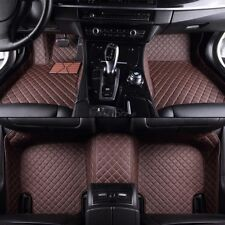 Fußmatten Car Mats Innenraum Kunstleder für Skoda Octavia RS Kombi Limousine