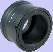 T/T2 Mount Lens Adapter Ring to Canon EOS M50, M200, M100, M6, M5, M10, M3