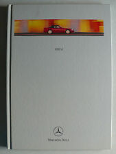Prospekt Mercedes SL - Klasse Facelift - R 129, 5.1999, Hardcover Buch 72 Seiten