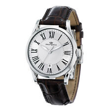 OROLOGIO UOMO PHILIP WATCH SUNRAY DATA PELLE R8251180003 LIST. 340€ ORIGINALE