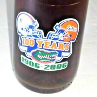 University of Florida UF Gators 1906-2006 100 Years Football Diet Pepsi Bottle