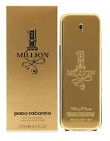 One 1 Million by Paco Rabanne Men's 3.4 oz - 100 mL Eau De Toilette NEW & SEALED