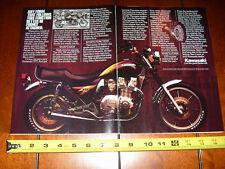 1983 KAWASAKI 1100 LTD - ORIGINAL 2 PAGE AD
