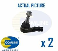 2 x NEW COMLINE FRONT OUTER TRACK ROD END RACK END PAIR OE QUALITY CTR3241