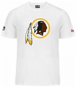 Washington Redskins Shirt NFL Football New Era Logo T-Shirt medium
