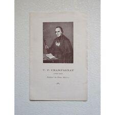FEUILLET : V.P. CHAMPAGNAT