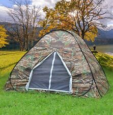 2-3 Person Camping Hiking Hunting Easy setup Instant Pop Up Tent Camouflage