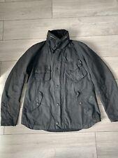 02 Barbour Men's Black Jacket Size UK L