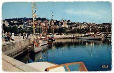 CPSM PF 14 - DEAUVILLE - TROUVILLE (Calvados) - 2172. Le Bassin des Yachts