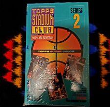 1993-94 Topps Stadium Club Basketball Series 2 [ Factory Sealed, Beam Team ]