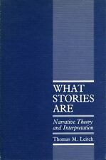 What Stories Are: Narrative Theory and Interpretation